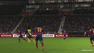 Barcelona vs Atletico de Madrid Campeon 17-05-14 Goles en PEs