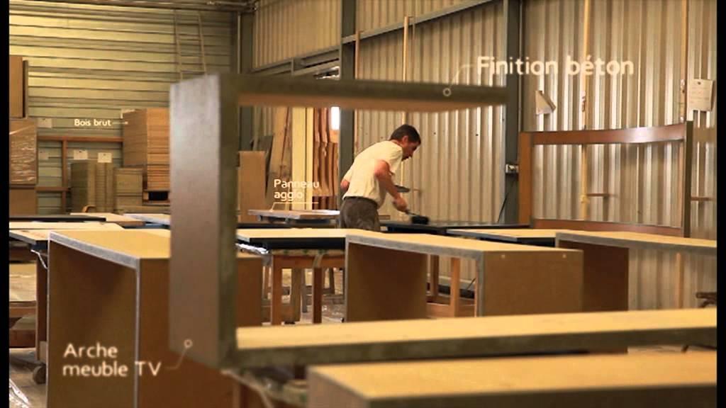 la boissellerie meubles en bois inspir s youtube. Black Bedroom Furniture Sets. Home Design Ideas