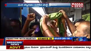 MP Varaprasad Visits To Renigunta Railway Station