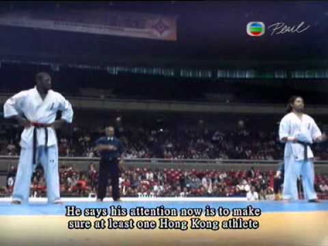 10 World tournament ,James Kouame,TVB news report-Tokyo