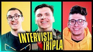 INTERVISTA TRIPLA tra Coinquilini / St3pNy & Surry