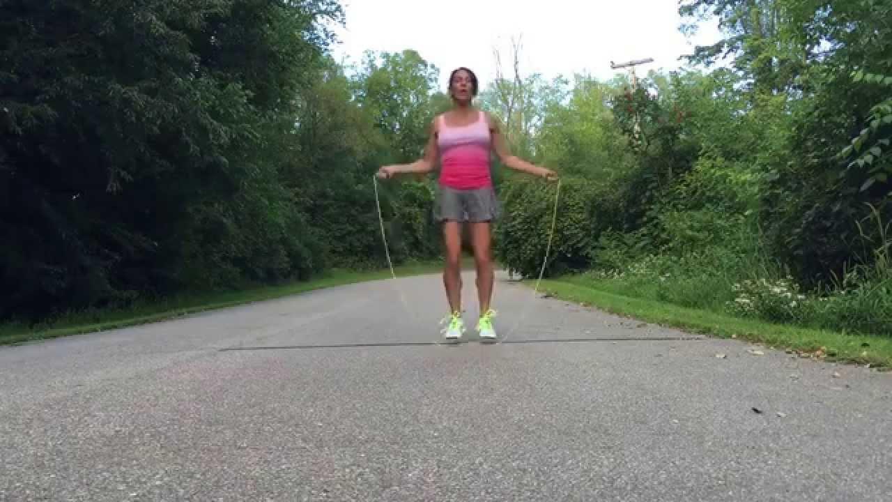 Kids skipping rope
