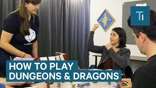 A Dungeons & Dragons master shows us how to play the classic game