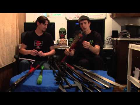 ZOMBIE WEAPONS! What we got, yo! Part 2 | ZOMBIE GO BOOM