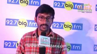 RJ Balaji At Big FM Launches Top 100 Kalakkal Hits