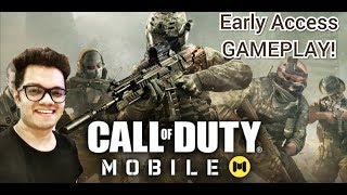 Call Of Duty Mobile || INDIA || Early Access GAMEPLAY & Introduction!