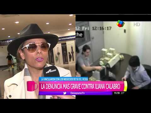 Iliana Calabró habló sobre su relación con SGI: En mi vida viajé a Panamá
