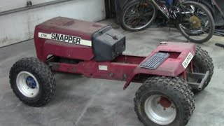 Snapper Racing Tractor Build Part 7 (Miscellaneous Bitz)