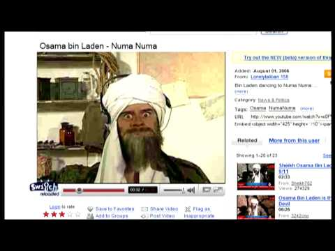 RTL Punkt 12: Osama bin Laden auf YouTube - Switch Reloaded