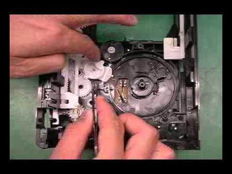 Механизм привода дисков CR16 от Panasonic - как разабрать(CR16 assembly)