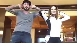 Sunny Leone And Daniel Weber Dances On Rom Rom Romantic Song