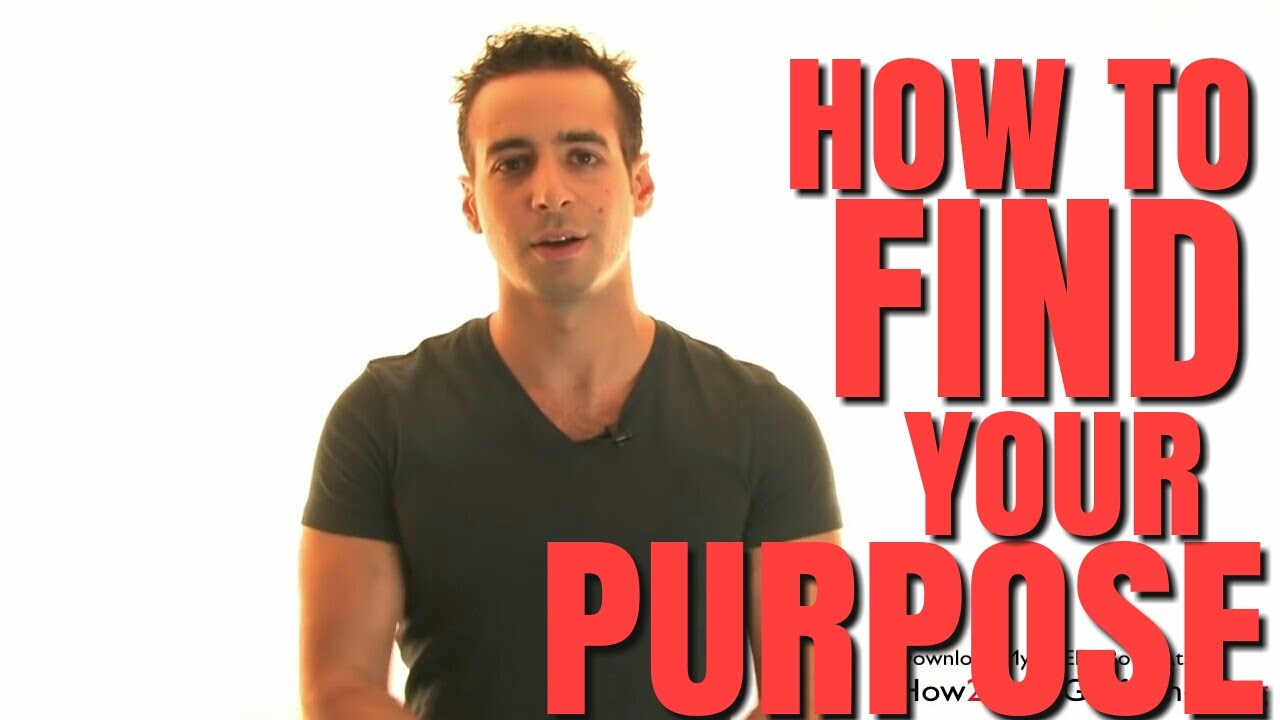 how to find purpose in life again