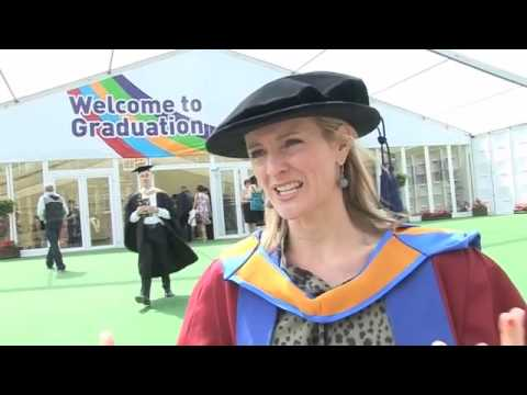 Graduation 2009: Honorary Degree Profile - Gabby Logan
