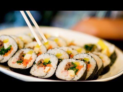 Суши по корейски или универсальный кимбаб  | kimbap/gimpab