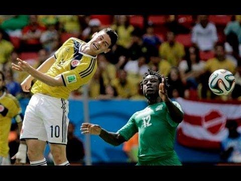 Colombia vs Ivory Coast 2014 FIFA World Cup Results