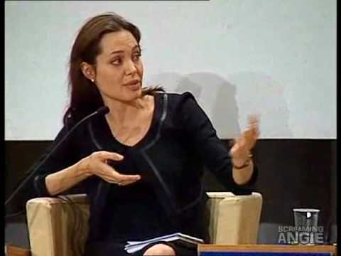 Angelina Jolie -World Economic Forum Davos 2006- Part3