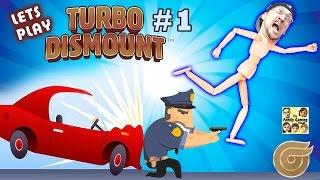 Laat Spel TURBO afsprong! FGTEEV Duddy loopt van het Cops! (Part 1 Gameplay)