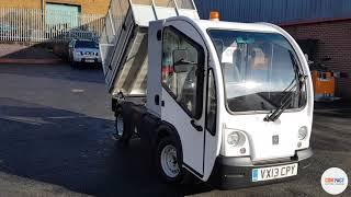 Used G3 Electric Tipper Van