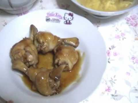 Receta comida Oriental , Sopa fuchifu y pollo con siyau