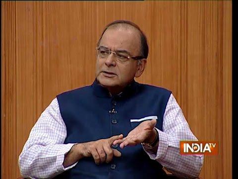 Finance Minister Arun Jaitley speaks on emerging economy in India