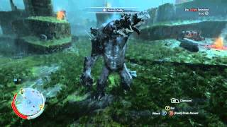 Middle-earth: Shadow of Mordor - Graug Rampaging