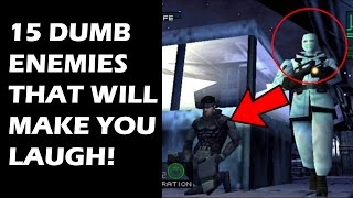 15 Dumbest Video Game Enemies That Will Make You Laugh As You Casually Murder Them