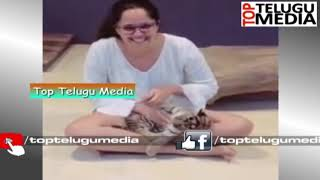Anasuya Bharadwa Playing with Little  Tigers | Anasuya Bharadwa | TTM