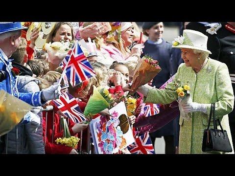 Queen Elizabeth II turns 90 at Windsor