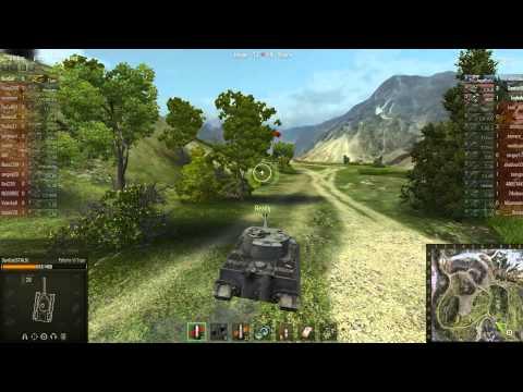 VOD! World of Tanks - Перевал - Тигр