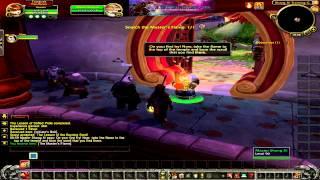 WoW girl, leveling Pandarian Monk 1-3 , World of Warcraft , Mists of Pandaria
