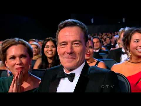 Anna Gunn wins an Emmy for Breaking Bad at the 2013 Primetime Emmy Awards