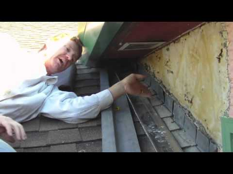 Remove And Repair Roof To Wall Flashing With Proper Z
