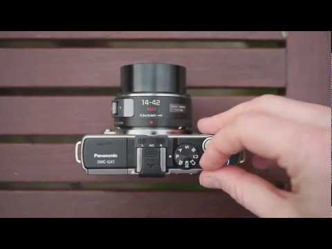 Panasonic Lumix DMC-GX1 - hands-on preview