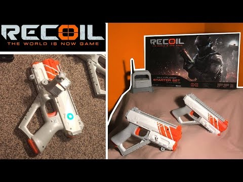 Recoil Laser Tag - Review - How Recoil Works!   TanMan321Go