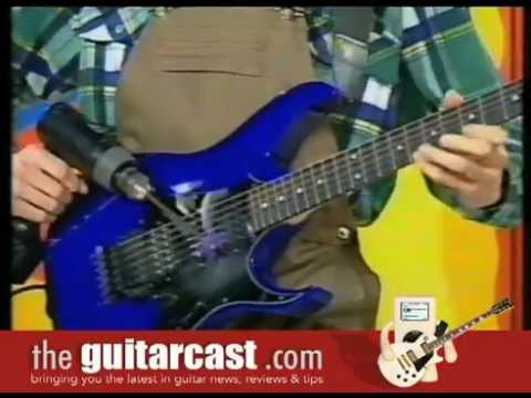 How To Play Guitar With A Power Drill