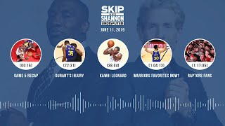 UNDISPUTED Audio Podcast (6.11.19) with Skip Bayless, Shannon Sharpe & Jenny Taft | UNDISPUTED