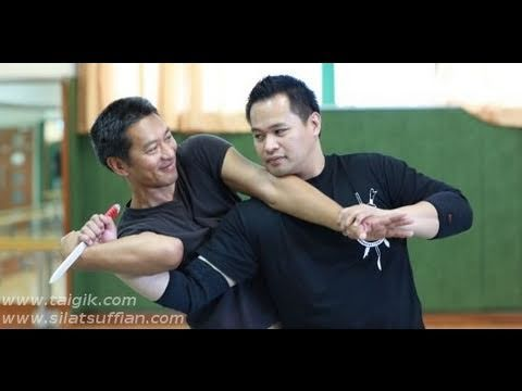 Silat Suffian Bela Diri -  Knife Assisted Throw Image 1