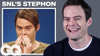 Bill Hader Breaks Down His Most Iconic Characters | GQ