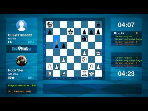 Chess Game Analysis: Rook Ster Guest31969682 : 10 (By ChessFriends.com)