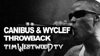 Canibus & Wyclef freestyle GREATEST EVER! First time released 1998 Throwback Westwood