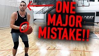 The ONE Shooting Mistake Even Pro Hoopers Make | Basketball Shooting Tips