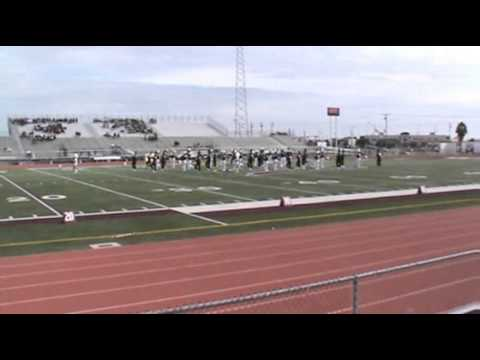 Rockport-Fulton High School Marching Band, Area Competition 10-28-2012