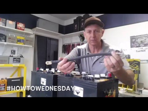 How to Connect Batteries in Series Parallel Deep Cycle Battery 6 Volt