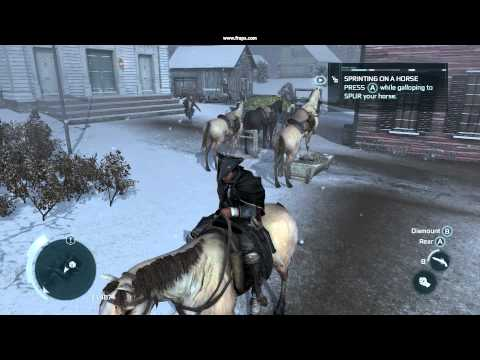 Assassin's Creed 3: Horse having sex with his food