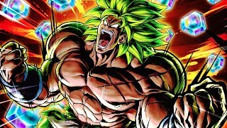 MY BODY IS READY! FULL POWER SSJ BROLY SUMMONS! Dragon Ball Legends DB