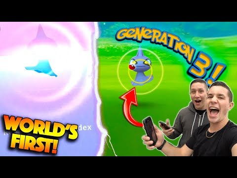 CATCHING *FIRST EVER GEN 3 POKÉMON* IN POKÉMON GO! GEN 3 HALLOWEEN UPDATE IS HERE!