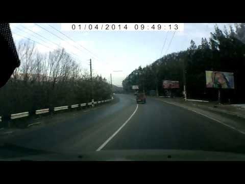 Авария Ангарский перевал 1.04.2014г.