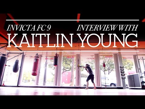 Invicta FC 9: Kaitlin Young Interview