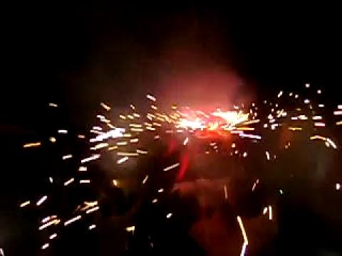 quema de torito en tamoyon 1 huautla, hidalgo. en el corazon de la huasteca