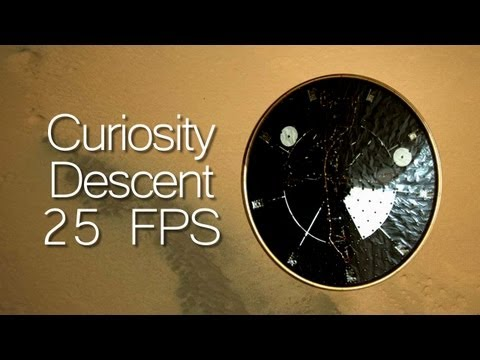 Complete MSL Curiosity Descent Interpolated HD